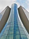 Edifício da câmara de ar de vidro Foto de Stock Royalty Free