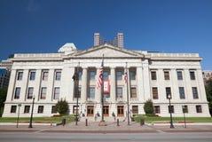 Edifício da casa & do Capitólio do estado de Ohio fotos de stock