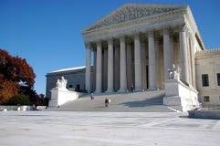 Edifício da corte suprema dos E.U. Fotos de Stock Royalty Free