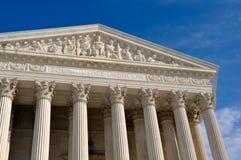 Edifício da corte suprema dos E.U. no Washington DC foto de stock royalty free