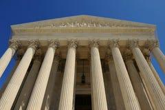 Edifício da corte suprema dos E.U., Washington, C.C. Imagem de Stock