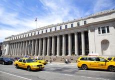 Edifício da estação de correios de James A. Farley Fotografia de Stock