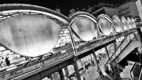 Edifício da estação de Shibuya Imagens de Stock Royalty Free