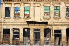 Edifício da ruína bombardeado Imagem de Stock Royalty Free