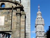 Edifício da salva - Montevideo Uruguai Imagem de Stock Royalty Free