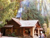 Edifício da sede do acampamento Imagens de Stock Royalty Free