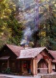 Edifício da sede do acampamento Fotos de Stock Royalty Free
