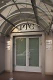 Edifício da troca conservada em estoque do sistema de comércio do russo Fotografia de Stock