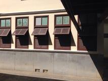 Edifício da velha escola Fotos de Stock Royalty Free