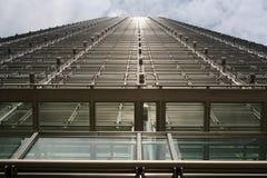 Edifício de aço do negócio Fotografia de Stock