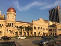 Edifício de Abdul Samad da sultão imagens de stock
