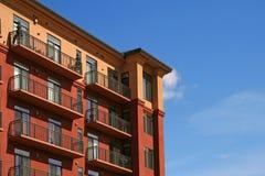 Edifício de apartamento Foto de Stock Royalty Free