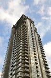 Edifício de apartamento bonito em Canadá Foto de Stock