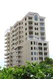 Edifício de apartamento do Highrise Fotografia de Stock