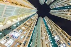 Edifício de apartamento elevado da ascensão Fotografia de Stock