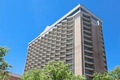 edifício de apartamento elevado Rosslyn da ascensão dos anos 60 VA EUA Fotografia de Stock