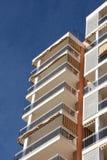 Edifício de apartamento genérico Fotos de Stock