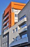 Edifício de apartamento moderno Fotografia de Stock
