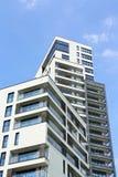 Edifício de apartamento moderno Imagens de Stock