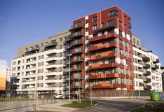 Edifício de apartamento novo Foto de Stock