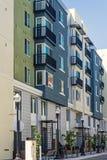 Edifício de apartamento novo fotos de stock