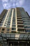 Edifício de apartamento novo Imagem de Stock Royalty Free