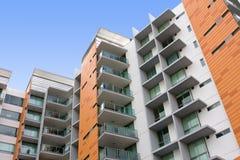 Edifício de apartamento residencial moderno Foto de Stock