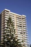 Edifício de apartamento urbano imagem de stock