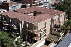 Edifício de apartamento urbano Fotografia de Stock