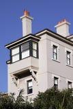 Edifício de apartamento urbano imagens de stock royalty free