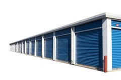 Edifício de armazenamento Foto de Stock Royalty Free