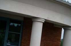 Edifício de banco Imagens de Stock Royalty Free