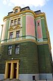 Edifício de banco Fotos de Stock Royalty Free