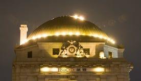 Edifício de banco das economias dos cidadãos Fotografia de Stock Royalty Free