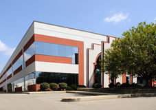Edifício de canto do negócio Foto de Stock Royalty Free