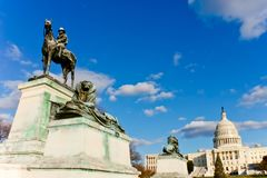 Edifício de capital dos E Imagem de Stock Royalty Free