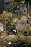 Edifício de carvão no penhasco fotografia de stock royalty free