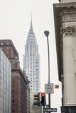 Edifício de Chrysler em Manhattan Imagens de Stock Royalty Free