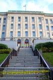 Edifício de Colline Parlamentaire Fotografia de Stock Royalty Free