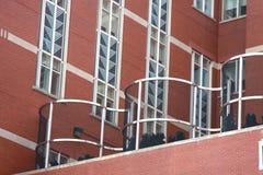 Edifício de Deco da arte moderna Fotos de Stock