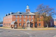 Edifício de dormitório em um campus universitário Foto de Stock Royalty Free