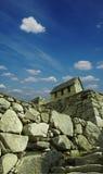 Edifício de Machu-Picchu Imagens de Stock Royalty Free