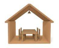 Edifício de madeira Fotos de Stock