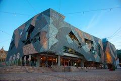 Edifício de Melbourne SBS Fotos de Stock Royalty Free