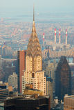 Edifício de New York City Manhattan Chrysler Imagens de Stock