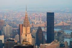 Edifício de New York City Manhattan Chrysler Fotografia de Stock