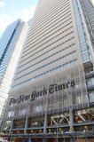 Edifício de New York Times Imagens de Stock Royalty Free