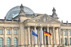 Edifício de Reichstag Imagens de Stock