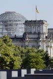 Edifício de Reichstag Fotos de Stock Royalty Free