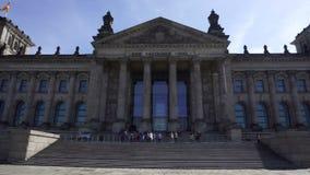 Edifício de Reichstag, Berlim, Alemanha vídeos de arquivo